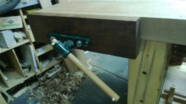 making wood vice
